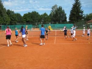 Cardio Tennis Gruppentraining